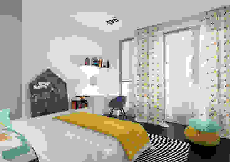ZR-architects Dormitorios infantiles de estilo moderno