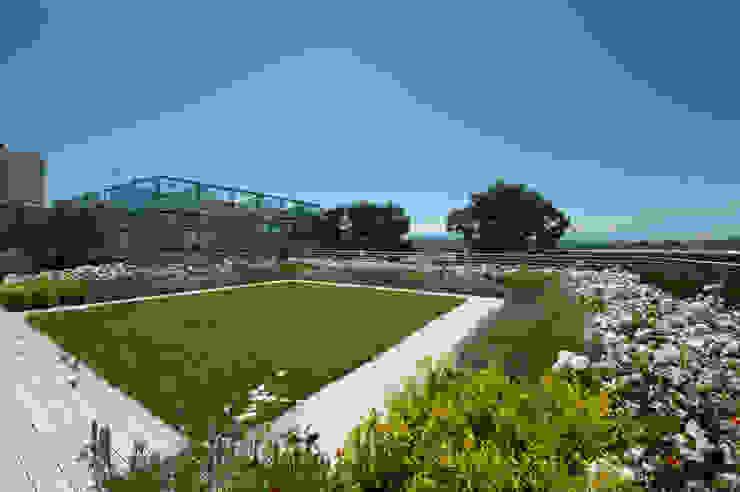 Giardino Pensile Intensivo Semplice di Febo Garden landscape designers Mediterraneo