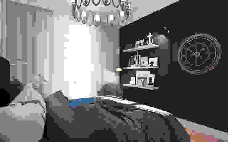 ZR-architects Dormitorios de estilo mediterráneo