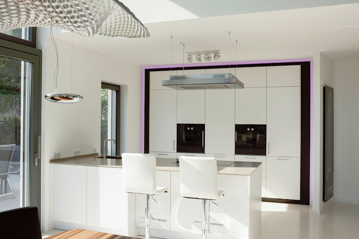 in_design architektur Modern style kitchen