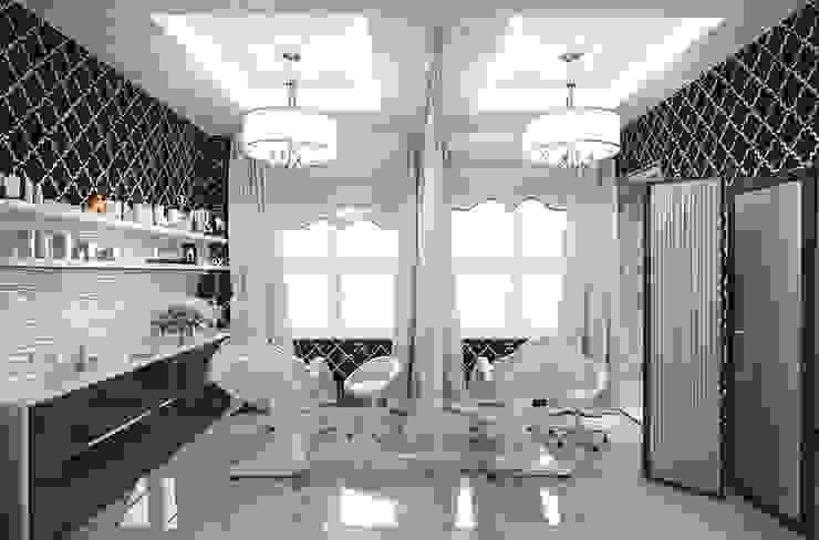 Выбор отделки для интерьера спа-салона Спа в стиле модерн от Olga's Studio Модерн