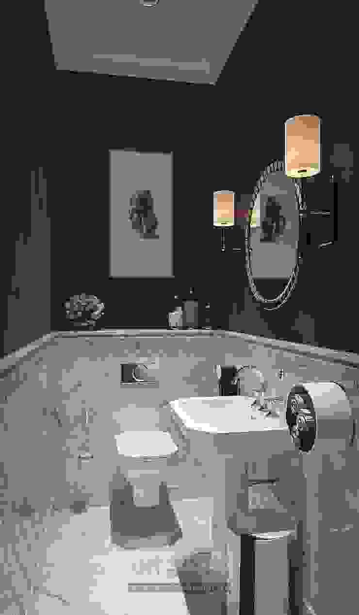 Функционал в дизайне интерьера спа-салона Ванная комната в стиле модерн от Olga's Studio Модерн