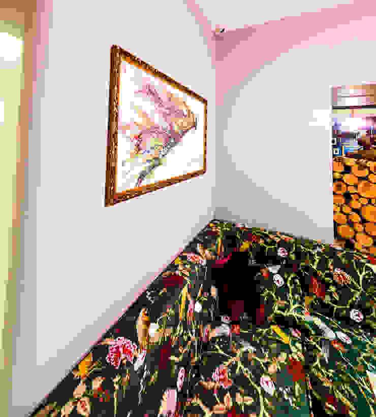 Кальянная ул. Газеты Звезда 90 кв.м Бары и клубы в эклектичном стиле от Дизайн студия fabrika Эклектичный