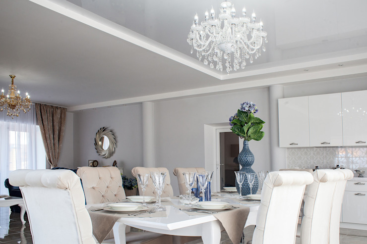 Classic style dining room by Дизайн студия fabrika Classic