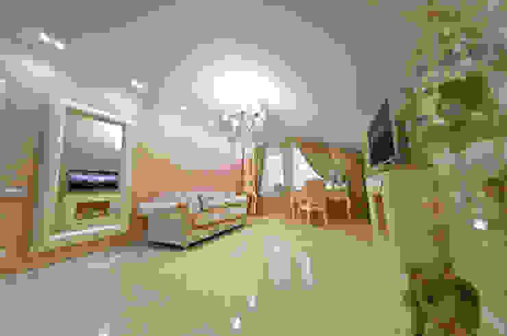 Загородный дом ул. Добрянская 235 кв.м Спальня в классическом стиле от Дизайн студия fabrika Классический