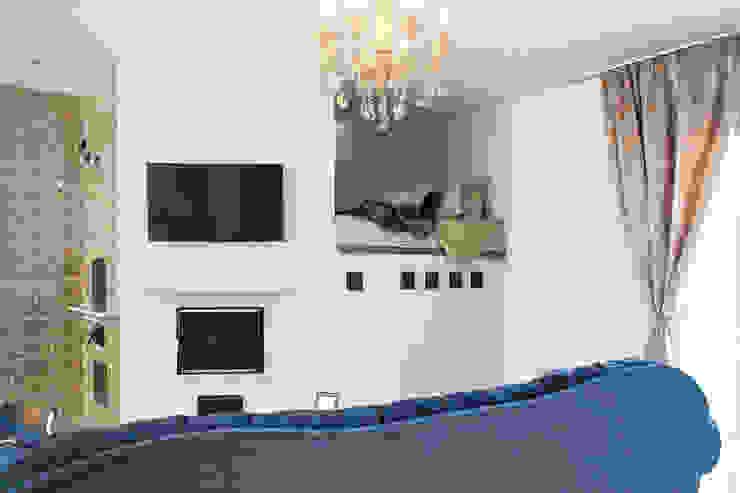 Загородный дом Троица 70 кв.м Гостиная в классическом стиле от Дизайн студия fabrika Классический