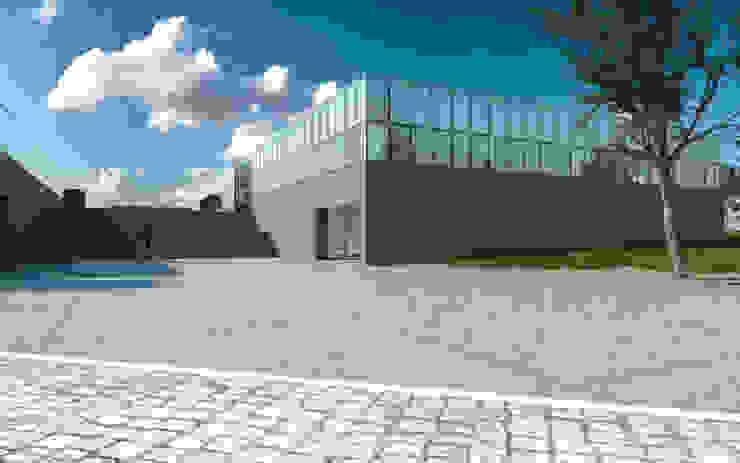 Escola de Hotelaria de Fátima_EHF Espaços de trabalho minimalistas por FILIPE SARAIVA - ARQUITECTOS, LDA Minimalista