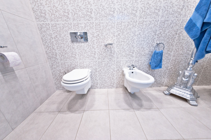 Загородный дом ул. Добрянская 235 кв.м Ванная в классическом стиле от Дизайн студия fabrika Классический