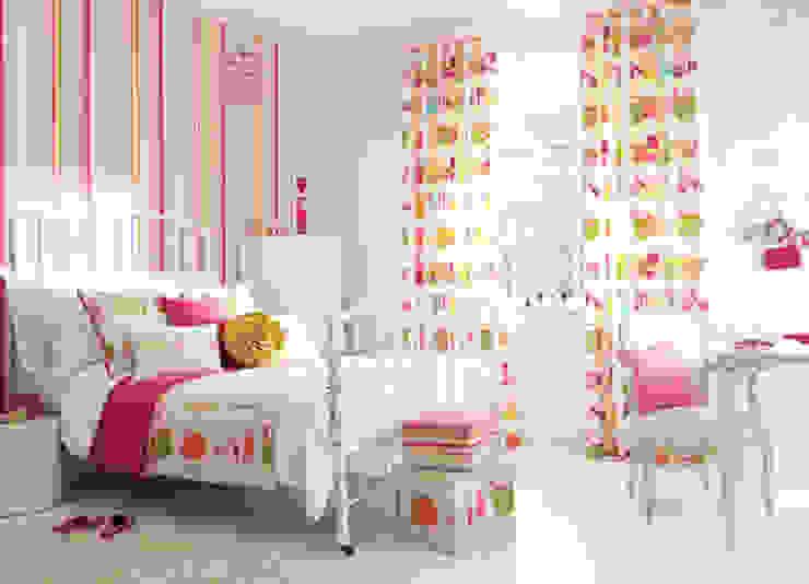 Quarto Infantil por Formafantasia Moderno Têxtil Ambar/dourado