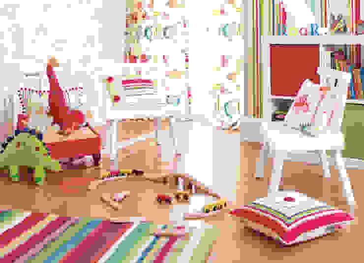 Quarto Infantil:   por Formafantasia,Moderno Têxtil Ambar/dourado