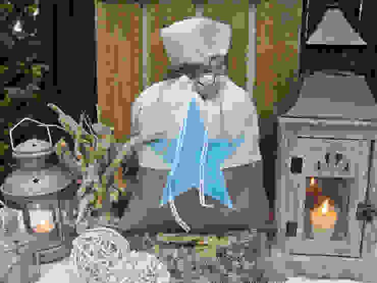 ALLE JAHRE WIEDER ... | Weihnachtsbeutel aus Jute von Papierwiese Landhaus Hanf/Jute Lila/Violett