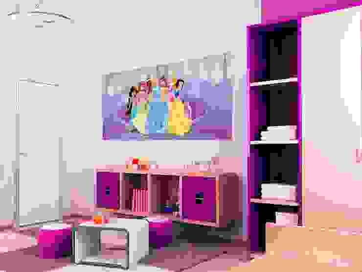 Paineis Decorativos Infantis Quartos de criança modernos por Formafantasia Moderno