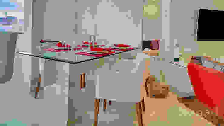 minimalist  by Letícia Bowoniuk Arquitetura e Interiores, Minimalist