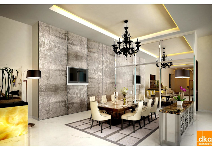 Dining room by Dutta Kannan architects , Modern