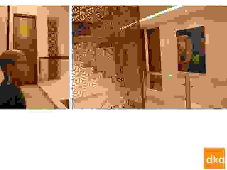 B&N Residence Modern corridor, hallway & stairs by Dutta Kannan Partners Modern