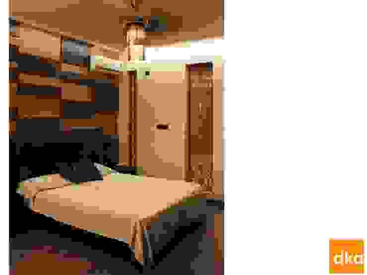 B&N Residence Modern style bedroom by Dutta Kannan Partners Modern