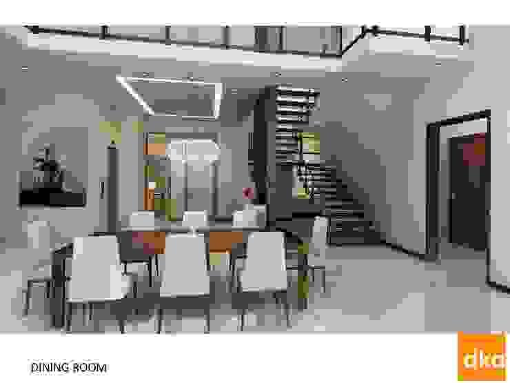 Poddar residence Modern dining room by Dutta Kannan Partners Modern