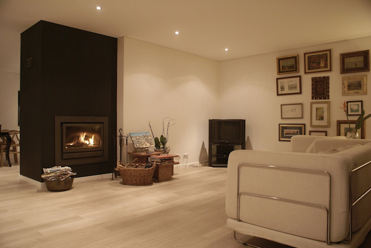 Apartamento CM: Salas de estar  por involve arquitectos