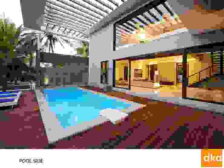 PMR Residence Modern pool by Dutta Kannan architects Modern