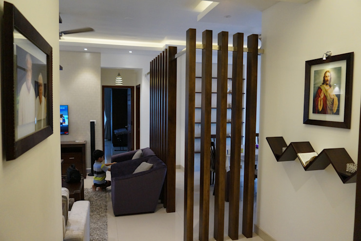 Modern Living Room by INOUTSPACE Modern Wood Wood effect