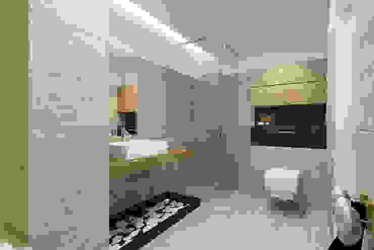 Baños de estilo moderno de Pracownia Aranżacji Wnętrz 'O-Kreślarnia' Moderno