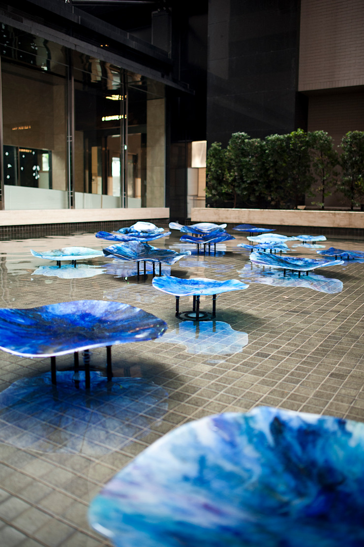 Taiwan Espacios comerciales de estilo moderno de Studio Orfeo Quagliata Moderno Vidrio