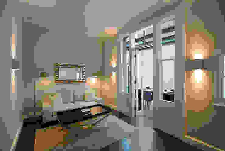 Living room Modern living room by ÜberRaum Architects Modern