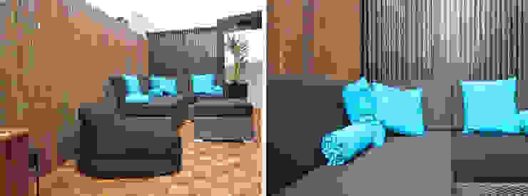 Terraço das Freiras – Remodelação Varandas, marquises e terraços ecléticos por A2OFFICE Eclético