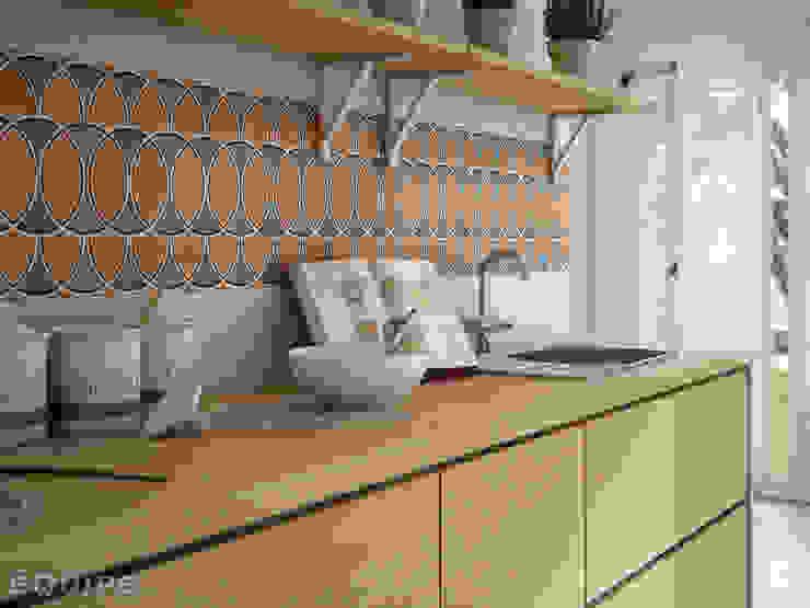 Caprice DECO Island Colours 20x20 Cocinas de estilo mediterráneo de Equipe Ceramicas Mediterráneo