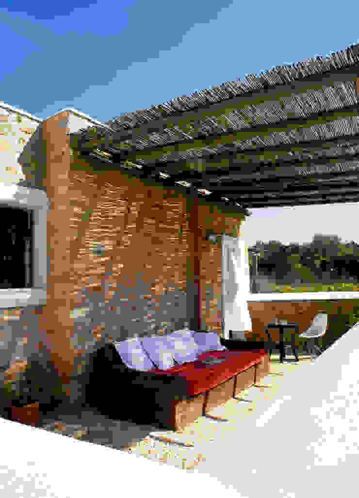 Balcon, Veranda & Terrasse ruraux par recdi8 Rural