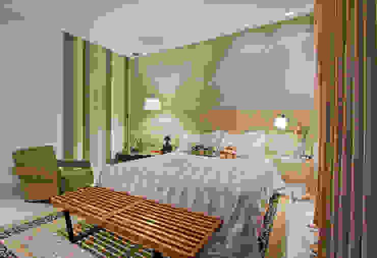 Modern style bedroom by Dubal Arquitetura e Design Modern