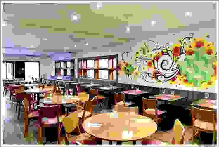 Nama Baru Espaços gastronômicos modernos por Atmosfera Arquitetura Sociedade Ltda Moderno