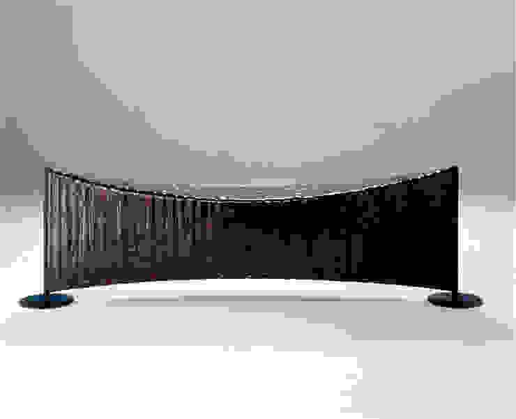The bamboo - ベンチ: 有限会社スペースマジックモンが手掛けた現代のです。,モダン 竹 緑