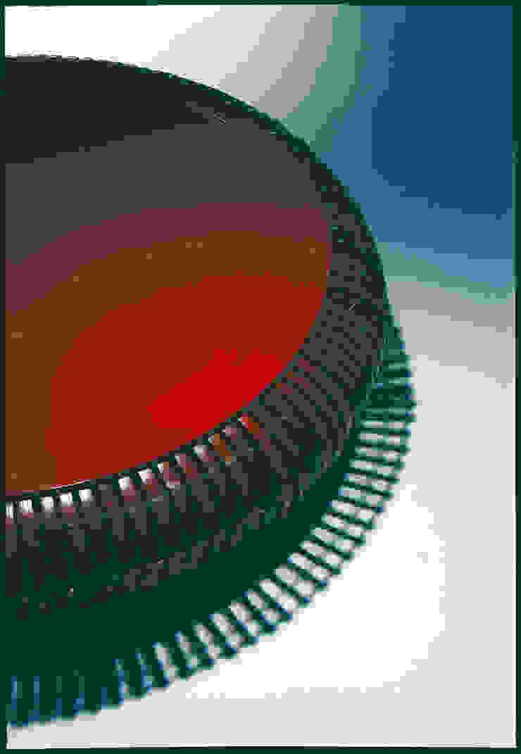 The bamboo - ラウンドテーブル: 有限会社スペースマジックモンが手掛けた現代のです。,モダン 竹 緑