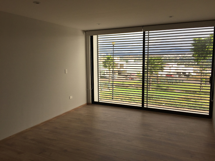 Chambre moderne par SANTIAGO PARDO ARQUITECTO Moderne