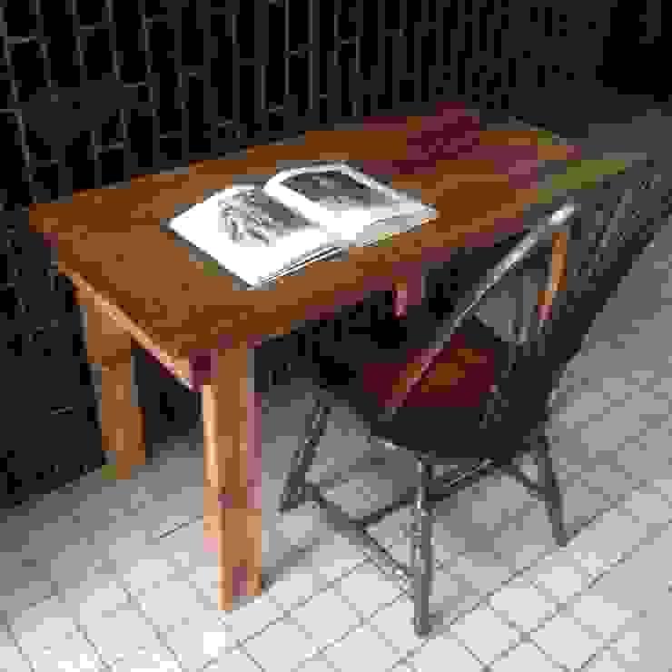 S50.original.Work Table 120: GALLERY.S S:TAYAMA が手掛けた素朴なです。,ラスティック 無垢材 多色