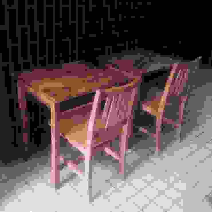 S50.original. Table&Desk with the shelf 60: GALLERY.S S:TAYAMA が手掛けた素朴なです。,ラスティック 無垢材 多色