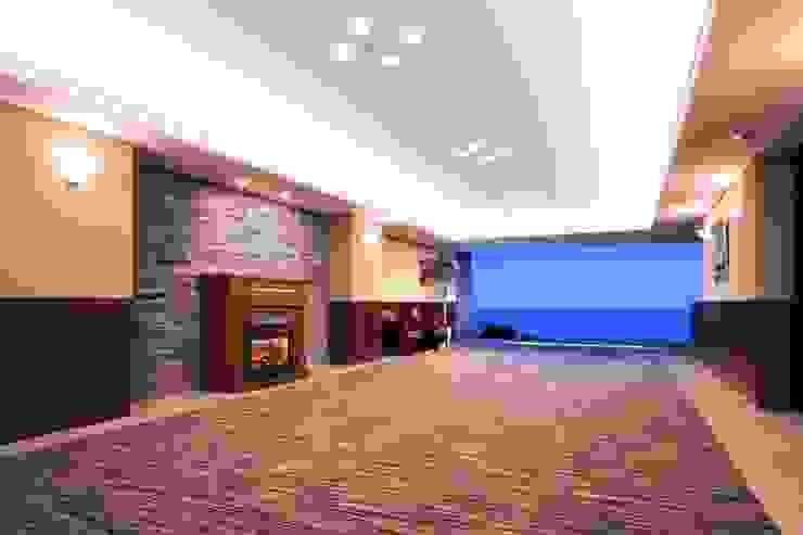 地場の産物~小松石 オリジナルスタイルの 玄関&廊下&階段 の PROSPERDESIGN ARCHITECT OFFICE/プロスパーデザイン オリジナル