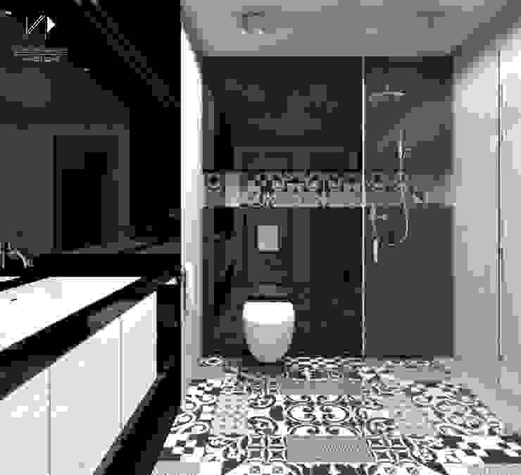 Mieszkanie, 80m2, Dąbrowa Górnicza Nowoczesna łazienka od Architekt wnętrz Klaudia Pniak Nowoczesny