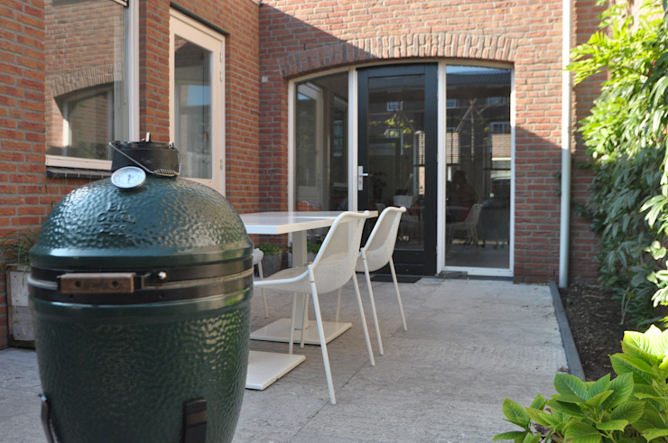 Funtionele Familietuin Moderne tuinen van House of Green Modern
