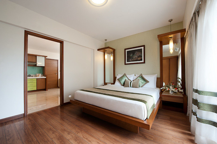 Eclectic style hotels by SDA designs Eclectic