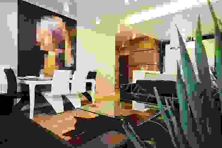 salon Nowoczesny salon od KANABE Nowoczesny