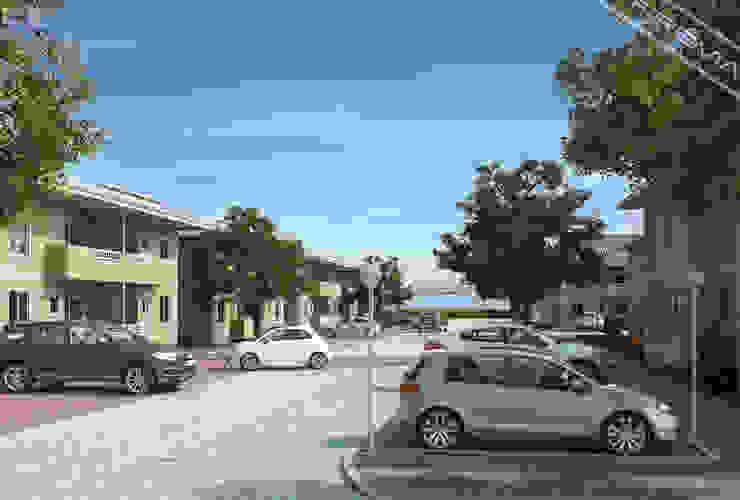 Vista geral Casas ecléticas por Studio HG Arquitetura Eclético
