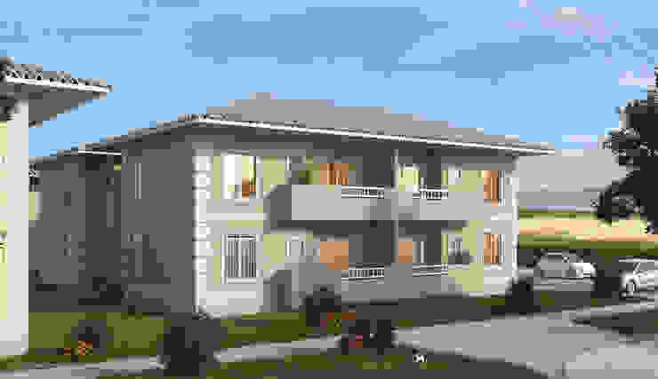 Casas de estilo ecléctico de Studio HG Arquitetura Ecléctico