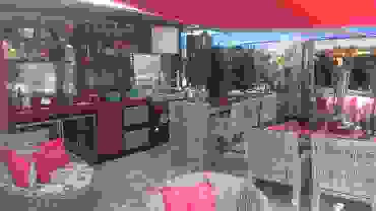 Studio HG Arquitetura Balcon, Veranda & Terrasse tropicaux