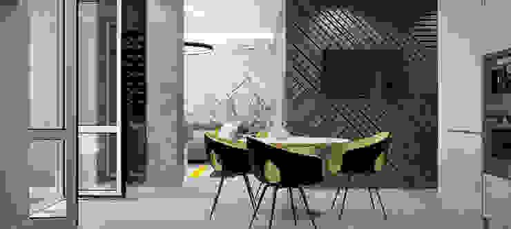 однушечка Кухня в стиле модерн от Pavel Alekseev Модерн