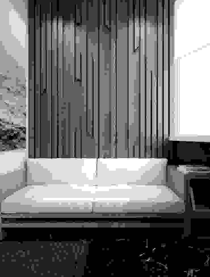 однушечка Балкон и терраса в стиле модерн от Pavel Alekseev Модерн