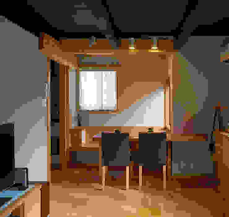 居間・食堂 オリジナルデザインの ダイニング の 竹内建築設計事務所 オリジナル