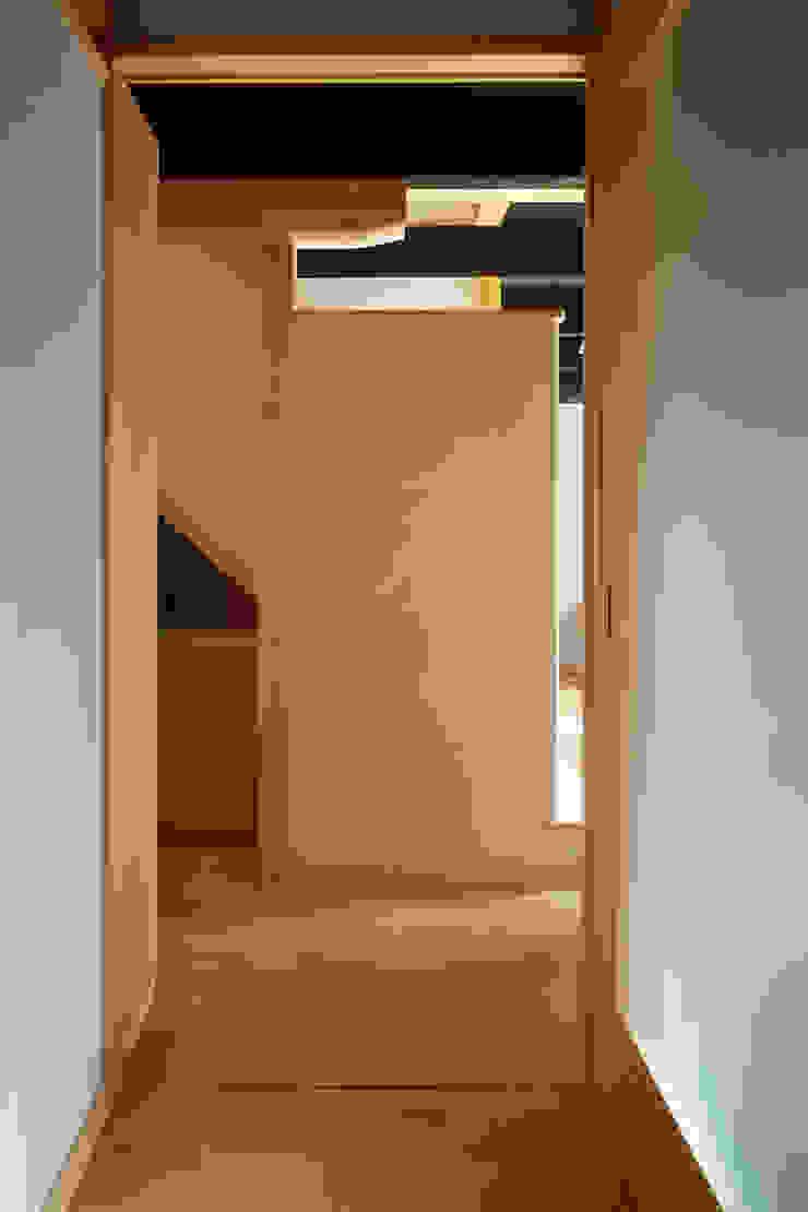ホール オリジナルスタイルの 玄関&廊下&階段 の 竹内建築設計事務所 オリジナル