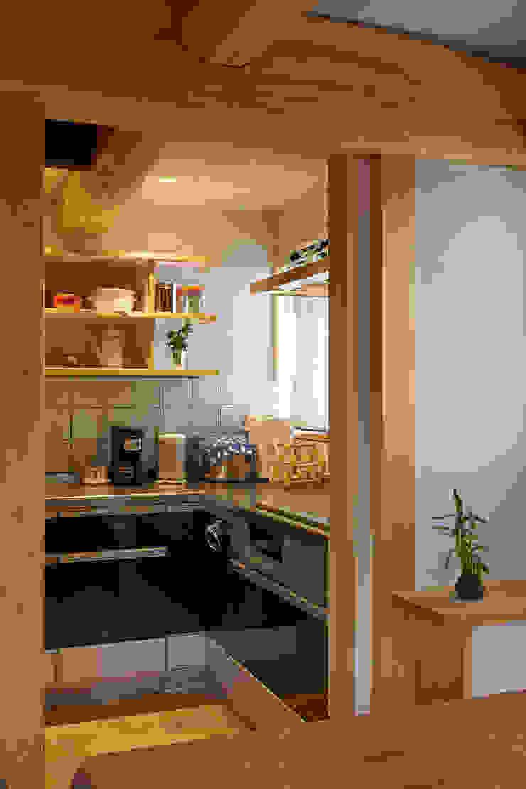台所 オリジナルデザインの キッチン の 竹内建築設計事務所 オリジナル